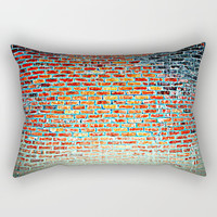 Bricks & Mortar Rectangular Pillow by Chris' Landscape Images & Designs