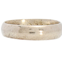 Love And Live - Silver Poesy Ring