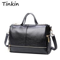 Tinkin New Arrival Femal Handbag Retro Motorcycle Messenger Bag
