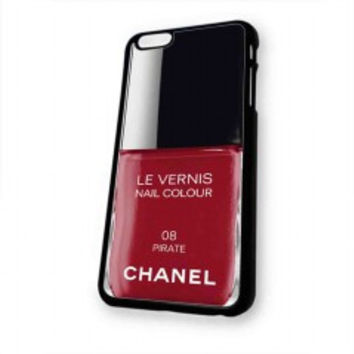 Pirate Red Nail Polish chanel Color for iphone 6 case