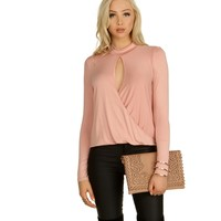 Pink Keyhole To My Heart Blouse