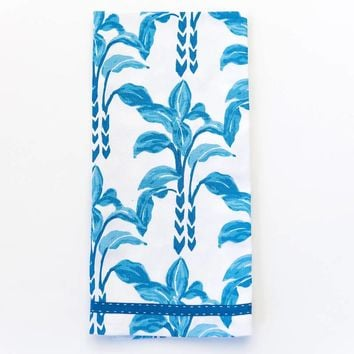 Carina Sky Blue Tea Towels-Set of 2