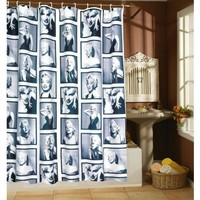 Marilyn Monroe Portrait Shower Curtain | Rockabilly Homewares