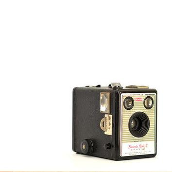 Vintage Camera Photographic Print Kodak Brownie Flash II