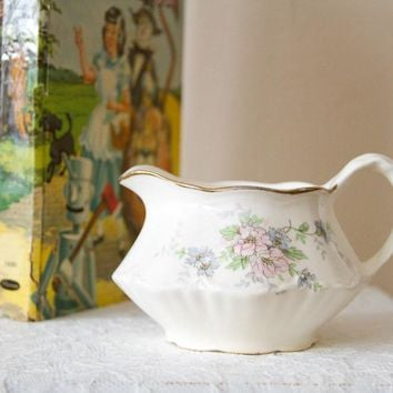 Rosey Homer Laughlin Creamer