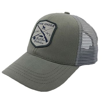 Rod & Gun Mesh Back Hat in Grey by Over Under Clothing