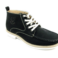 Men's Polar Fox Ankle High Lace Up Casual Boot 506011 Black-226