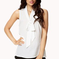 Essential Tie-Front Top