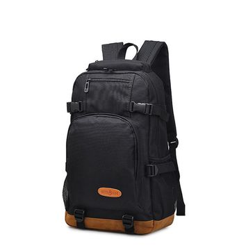 fashion canvas men's daily travel backpacks for laptop Korean style vogue hipster versatile youth school bag