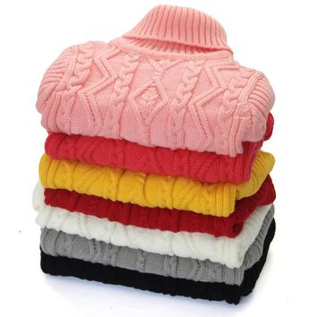 Girls Sweaters winter Pullovers 1-12 year