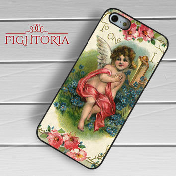 Vintage cute angel -swn for iPhone 6S case, iPhone 5s case, iPhone 6 case, iPhone 4S, Samsung S6 Edge