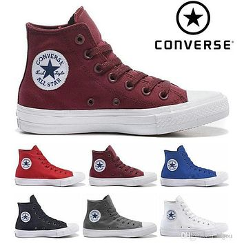 Original Converse Chuck Tay Lor II 2 Shoes For Men Women Brand Sneakers Running High Top Classic Skateboarding Canvas Free Shipping