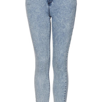 MOTO Acid Leigh Jeans - Topshop