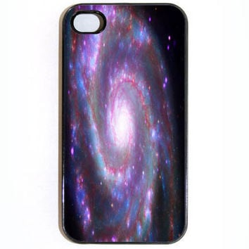iPhone 4 4s CaseSpiral Galaxy in Space Hard iPhone by KustomCases