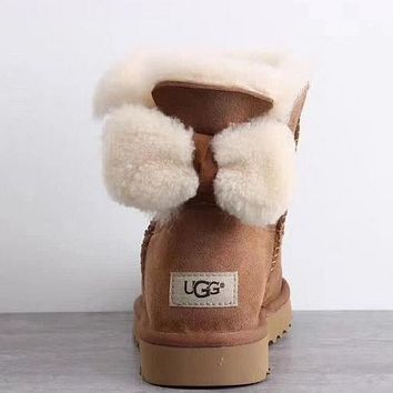 UGG Women Fur Winter Snow Boots Short Boots Shoes