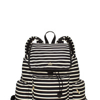 Kate Spade Classic Nylon Clay Black/Clotted Cream ONE
