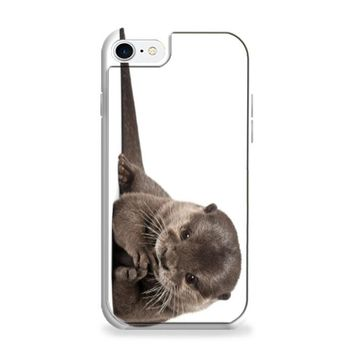 Otter wallpaper white iPhone 6 | iPhone 6S Case