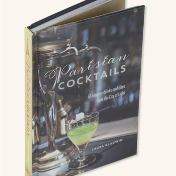 Parisian Cocktails Book | Laura Gladwin