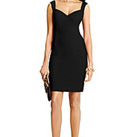 DVF Bustier Ceramic Sheath Dress
