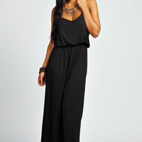 Callie Strappy Bagged Over Maxi Dress