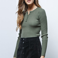 LA Hearts Cropped Ribbed Pullover Sweater at PacSun.com