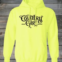 Women's Athletic Horseshoe Country Girl ® Hoodie