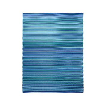 Achla Designs Blue 6 ft. x 8 ft. Indoor/Outdoor Area Rug-K-301 - The Home Depot