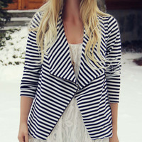 Cozy Saturday Stripe Jacket