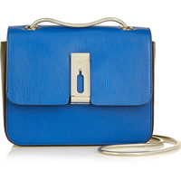 Anya Hindmarch - Albion small two-tone leather shoulder bag