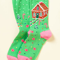See the Whole Ginger Socks | Mod Retro Vintage Socks | ModCloth.com