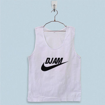 Men's Basic Tank Top - DJ AM Parody Logo