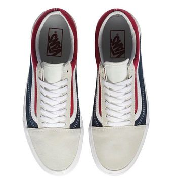 VANS  Red blue fashion casual shoes
