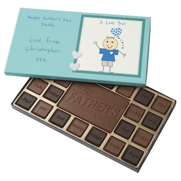 Father's Day Chocolate Box Dad Daddy