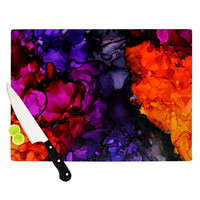 """Claire Day """"Family Photos"""" Cutting Board"""