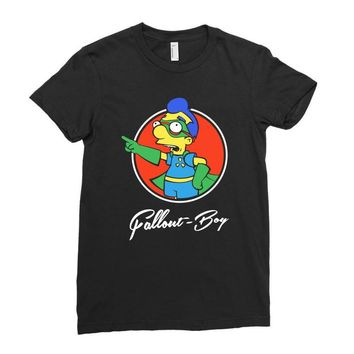 fallout boy Ladies Fitted T-Shirt