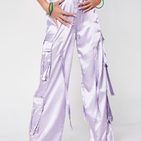 Lilac Octopus Trousers