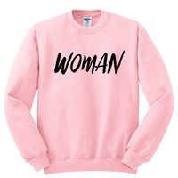"Harry Styles ""Woman"" Crewneck Sweatshirt"