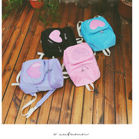 Heart transparent window backpack (free ship) sold by CandyFrizz Stars