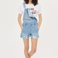 MOTO Boyfriend Short Dungarees - New In Fashion - New In