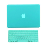 "TopCase 2 in 1 Rubberized Hot Blue Hard Case Cover and Keyboard Cover for Macbook Pro 15"" A1286 - Not for Retina Display"