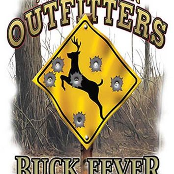 Tin Sign Buck Fever