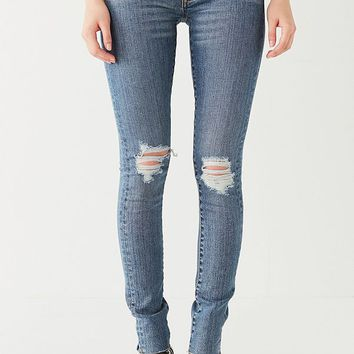 BDG Twig Mid-Rise Skinny Jean – Cobalt | Urban Outfitters