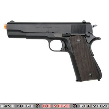 KWA US General Issue M1911A1 NS2 Full Metal Airsoft Gas Blowback Pistol - Classic