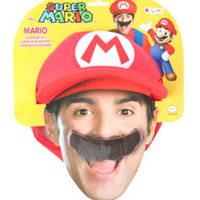 Nintendo Super Mario Bros. Mario Costume Kit