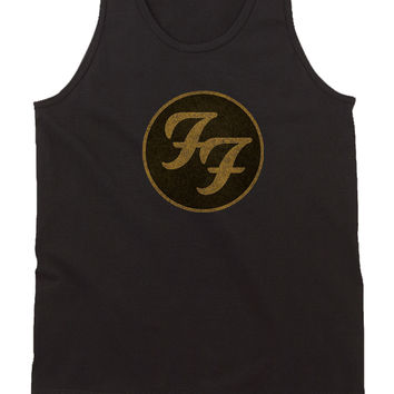 Foo Fighters Logo Womens Tank Top