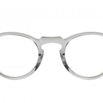 Oliver Peoples | Gregory Peck Workman Grey /Ebonywood Optical Eyewear by Oliver Peoples