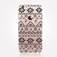 Transparent Aztec iPhone Case - Transparent Case - Clear Case - Transparent iPhone 6 - Transparent iPhone 6 Plus - Transparent iPhone 6S