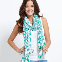 Women's Scarves: Whale Block Scarf for Women - Vineyard Vines