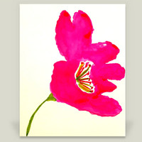 Fuchsia Flower Art Print by charissecolbert on BoomBoomPrints
