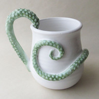 Tentacle Monster Coffee Mug MADE TO ORDER